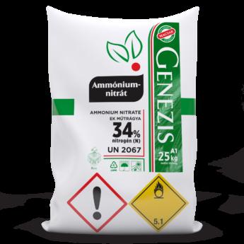 Genezis Ammónium-nitrát (Prillezett)